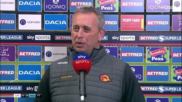 Catalans Dragons head coach Steve McNamara felt his side were deserving winners over Hull Kingston Rovers