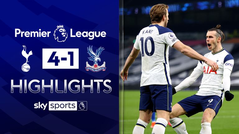 FREE TO WATCH: Highlights from Tottenham's win against Crystal Palace in the Premier League