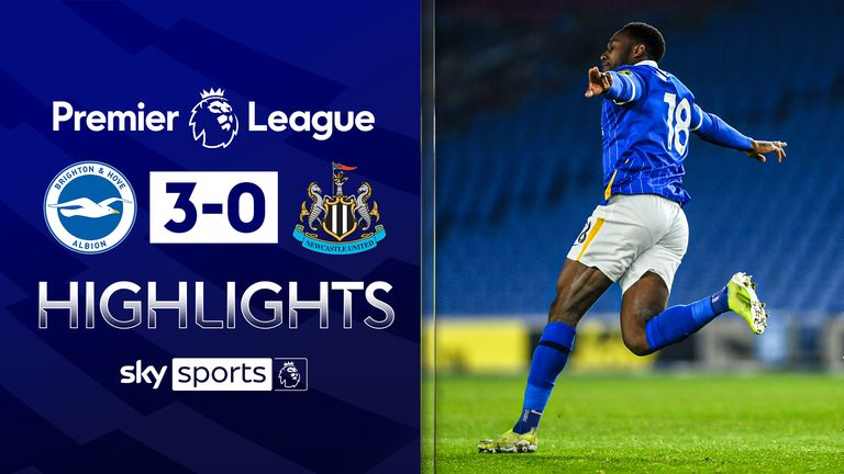 Brighton claimed a huge win against Newcastle