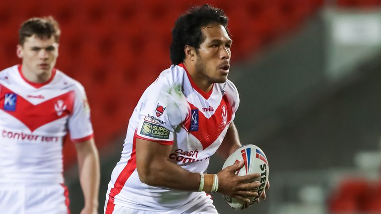 Agnatius Paasi is one of St Helens' new signings for the 2021 season