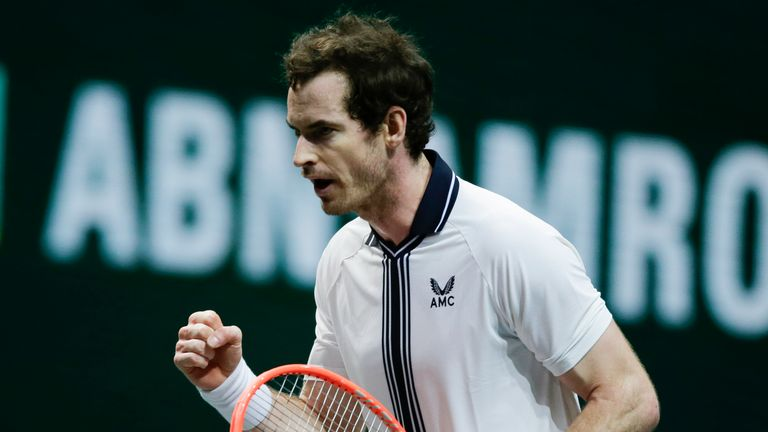 Andy Murray reeled off the last six games to secure victory from a set down
