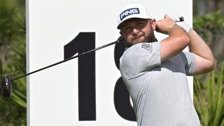 Andy Sullivan tied for 68th place at the WGC-Workday Championship last month
