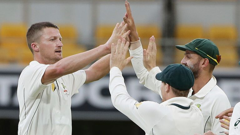 Bird has played nine Tests for Australia, taking 34 wickets