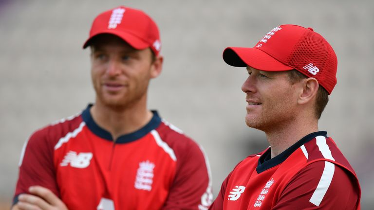 Jos Buttler dismissed the idea that Eoin Morgan is always given a full-strength squad to choose from in T20 cricket