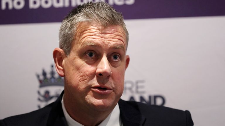 Ashley Giles has defended England's rotation policy during their 3-1 Test series defeat to India