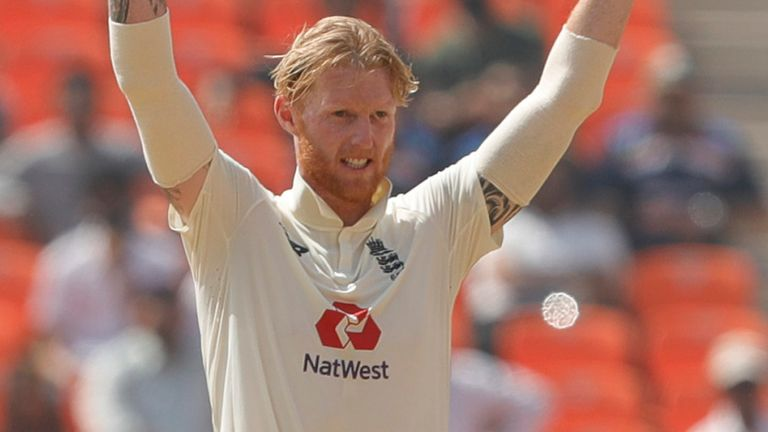 Ben Stokes quickly wrapped up the Indian innings after a frustrating start to day three (Pic credit - BCCI)
