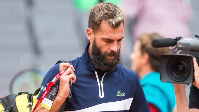 Benoit Paire has hit out at 'ridiculous' ATP Tour (Photo by: Daniel Bockwoldt/picture-alliance/dpa/AP Images)