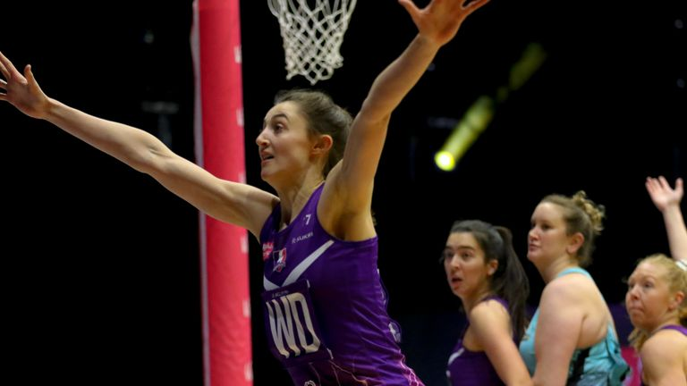Beth Cobden's presence and output is vital for her circle defenders' success (image: Ben Lumley)