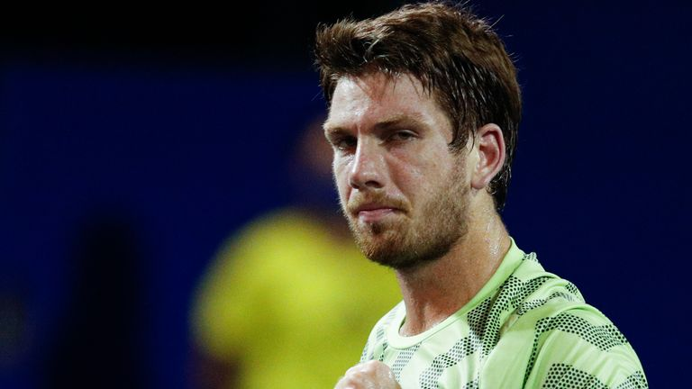 Cam Norrie admits he has 'a lot to work on' as he prepares for the Madrid Open (AP Photo/Rebecca Blackwell)