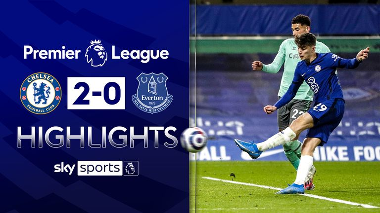 FREE TO WATCH: Highlights from Chelsea's win over Everton in the Premier League.