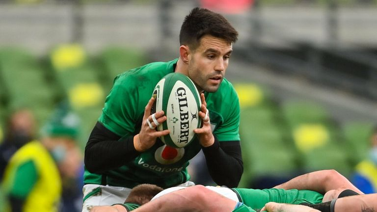 Conor Murray's kicking game caused England problems