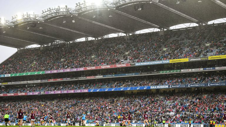 A crowd of 56,114 attended the 2019 final between Dublin and Galway