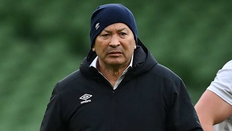 Jones has led England to Six Nations titles in 2016, 2017 and 2020