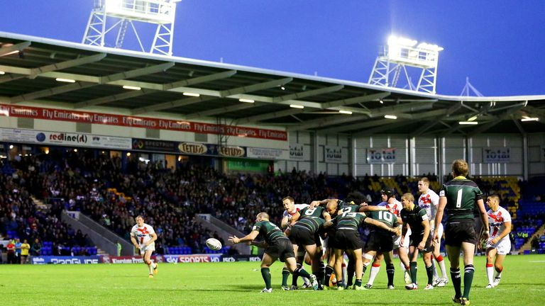 England last faced the Exiles in 2013 at the Halliwell Jones Stadium