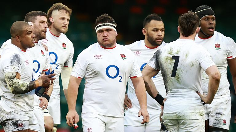 England finished fifth in this year's Six Nations after losing to Scotland, Wales and Ireland
