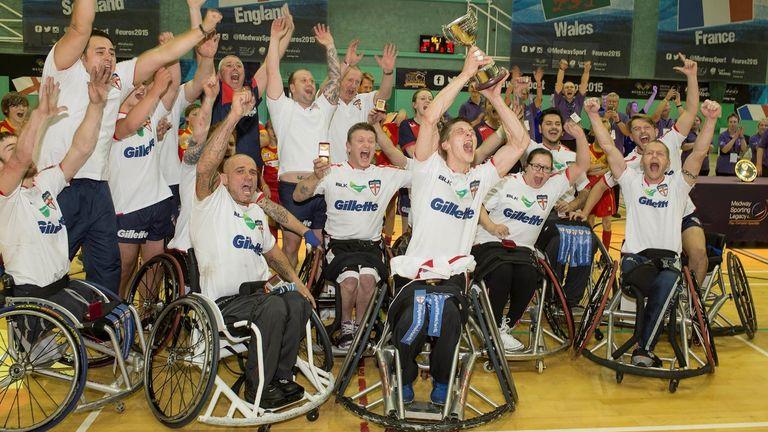 El equipo de la liga de rugby en silla de ruedas de Inglaterra volverá a jugar en junio contra Gales