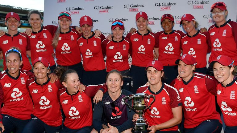 England Women swept New Zealand 3-0 in the T20 series after reeling off an 11th straight win in the format