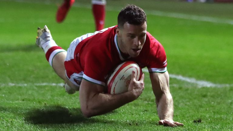Gareth Davies started on the replacements bench behind Tomos Williams and Kieran Hardy for Wales in 2021, but has made the Lions squad