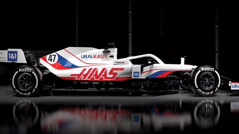 Haas also revealed their new-look car livery for the 2021 season on Thursday
