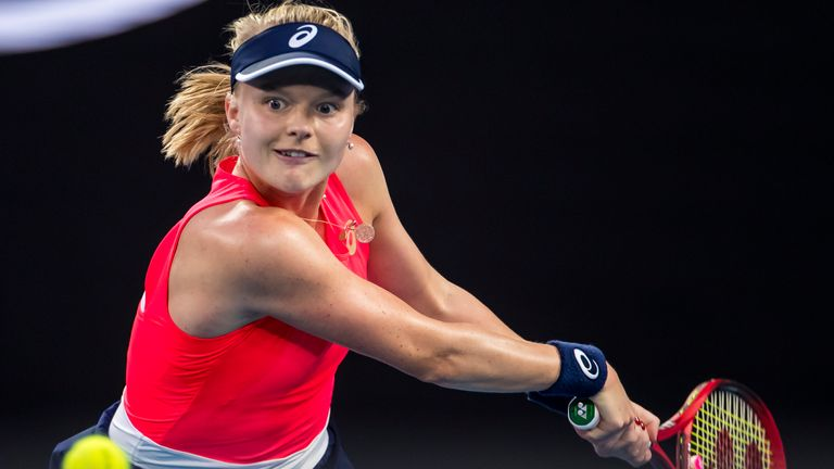 Харриет Дарт близка к своему первому выступлению на Открытом чемпионате Франции по теннису