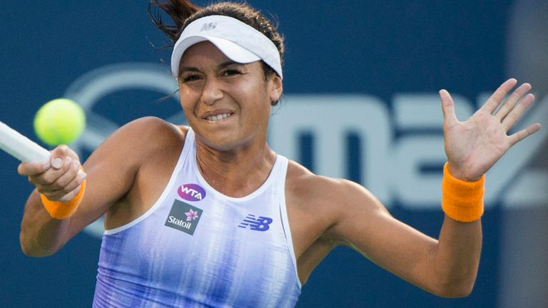 Heather Watson liderará al equipo británico como No. 2 (Graham Hughes / The Canadian Press vía AP)