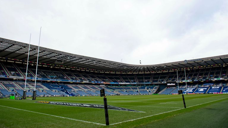 Scotland's squad and management will take a break from training camp to self-isolate