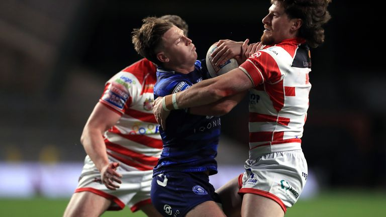 Jai Field's Super League debut lasted just 19 minutes