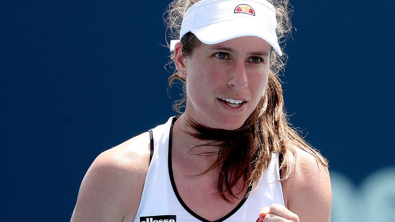 Johanna Konta will not be part of Great Britain's Billie Jean King Cup play-off tie against Mexico in April