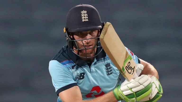 Jos Buttler was stand-in skipper for England in the absence of Eoin Morgan for the final two ODIs of the series