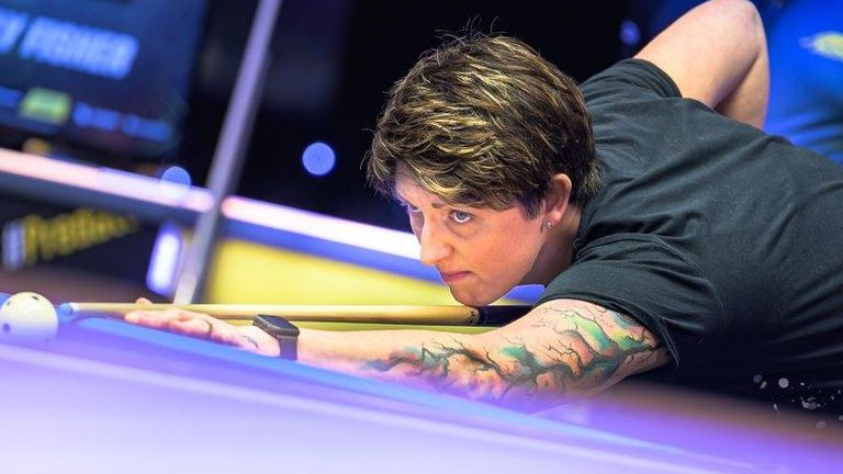 Kelly Fisher will be joined by Allison Fisher as Great Britain B take on three-time champions Philippines at the World Cup of Pool