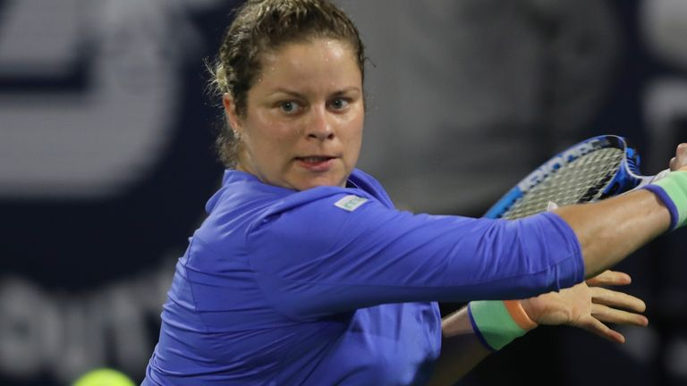 Kim Clijsters remains adamant she is not ready to quit for the third time during her career