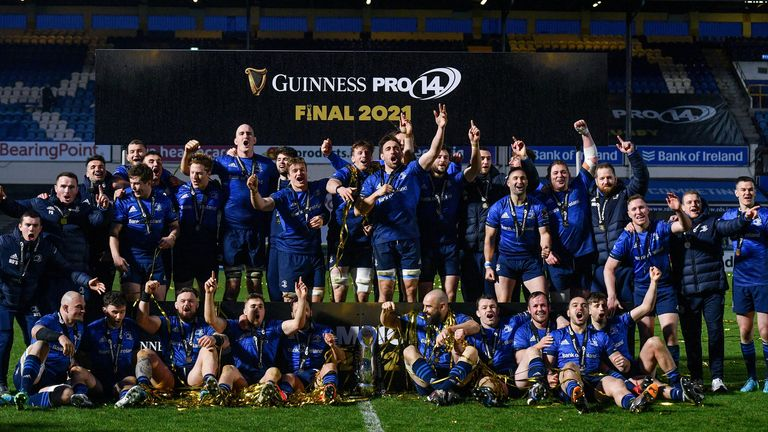 Leinster were crowned PRO14 champions last weekend, after victory over rivals Munster at the RDS