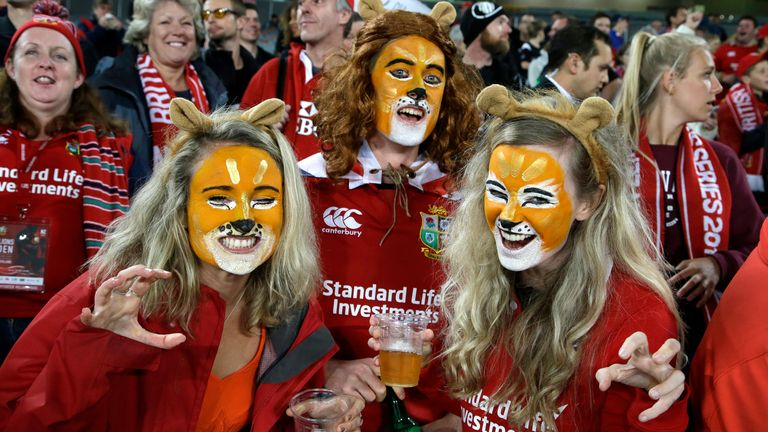 British and Irish Lions fans could soon see the start of a women's team