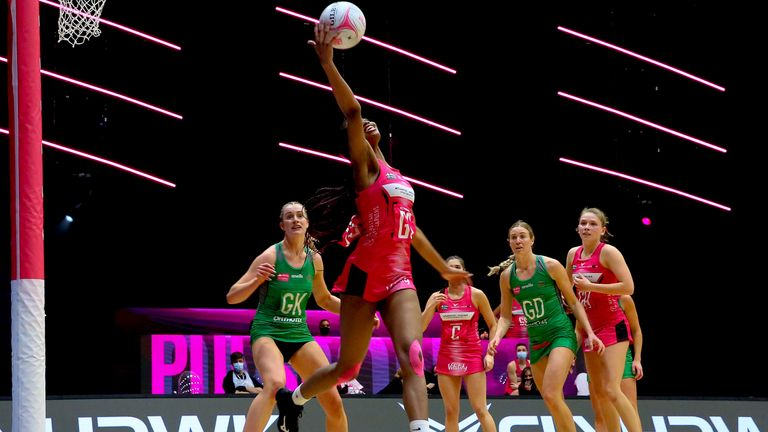 London Pulse dominated Celtic Dragons to pick up a crucial victory on Monday night