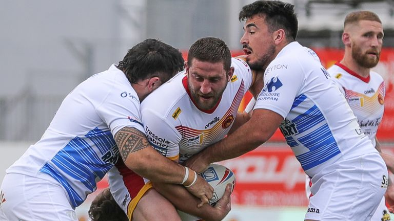 Catalans faced Toulouse in a pre-season game
