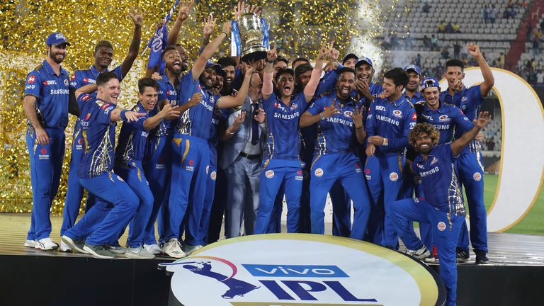 Mumbai Indians won the IPL in 2019 and 2020 and have a record five wins in the tournament overall