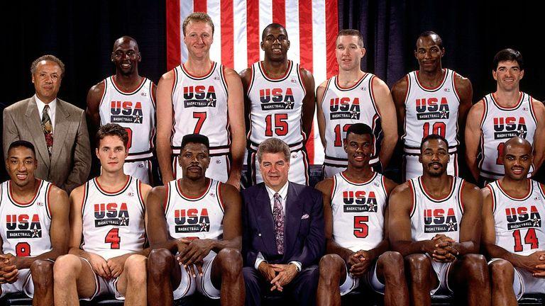 The 1992 USA Men's Basketball Team