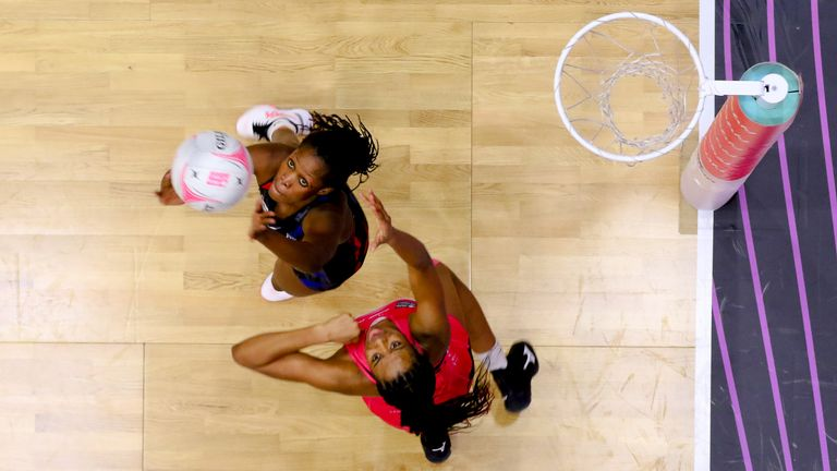 The fourth round of the Vitality Netball Superleague hit all the right notes (Image Credit - Ben Lumley)