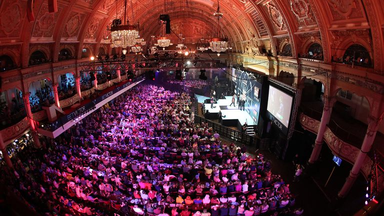PDC Chief Executive Matt Porter hopes the PDC can accommodate a full house at the Winter Gardens in July