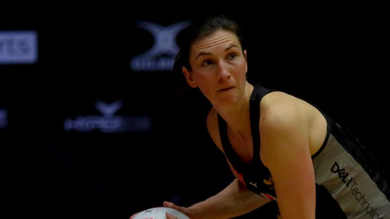 Wasps Netball left it late to clinch a point from their contest with Strathclyde Sirens (Image Credit - Ben Lumley)