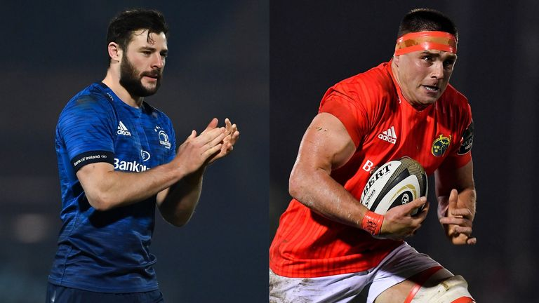 Robbie Henshaw and CJ Stander have been in superb form for Ireland, but which will pick up PRO14 medals on Saturday?