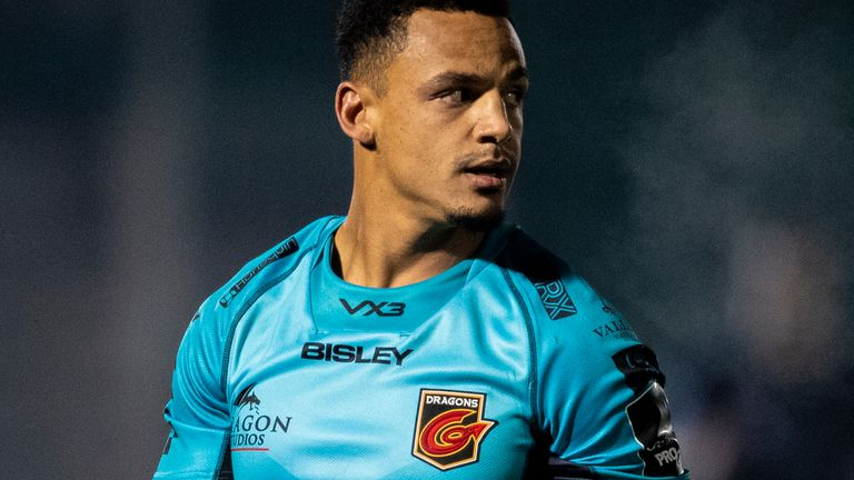 Ashton Hewitt suffered racist abuse after the Dragons lost to the Scarlets on New Year's Day