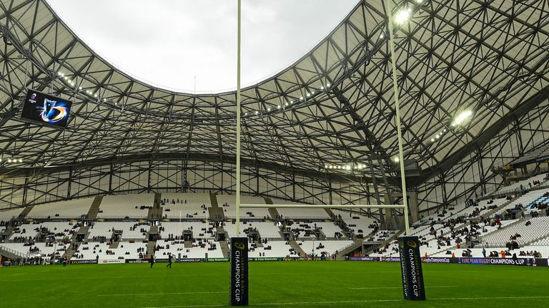 Marseille's Stade Velodrome will now host the 2022 finals