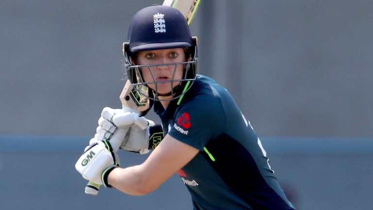 Taylor scored seven centuries and 36 fifties for England Women