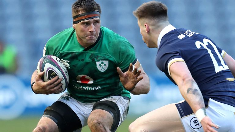 CJ Stander (left) could return to training later this week