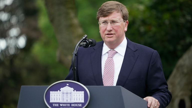 Mississippi Governor Tate Reeves has signed a bill banning transgender athletes from competing on women's sports teams