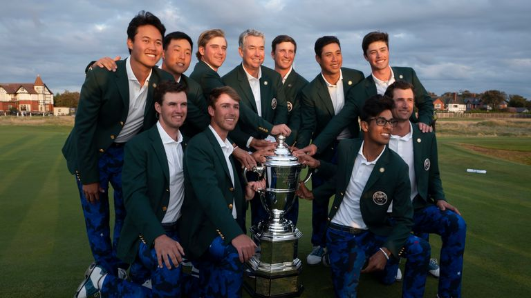Team USA have won the last two Walker Cup contests