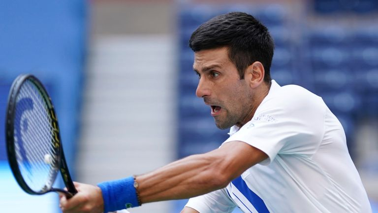 World number one Novak Djokovic suffered a muscle tear during the Australian Open third round win over Taylor Fritz