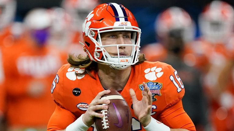 Trevor Lawrence is the consensus No 1 overall pick (AP Photo/John Bazemore)