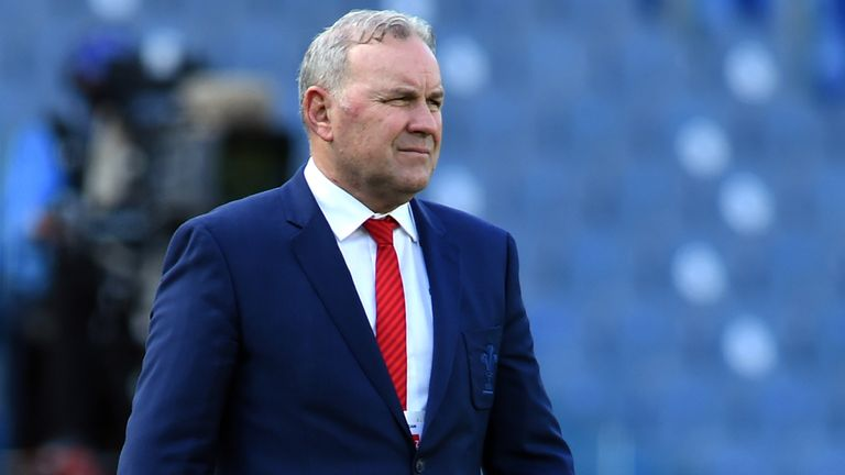 """Wayne Pivac says Wales are """"in a pretty good space"""""""